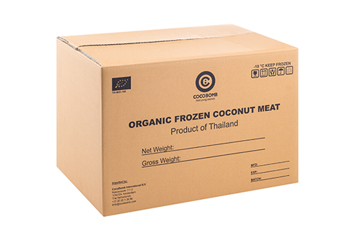 Organic Frozen Coconut Meat