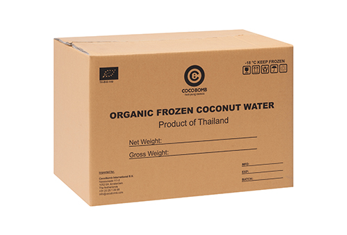 Organic Frozen Coconut Water